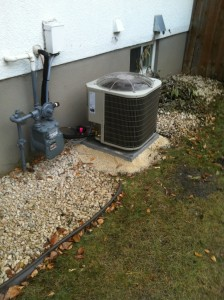 Residential AC install